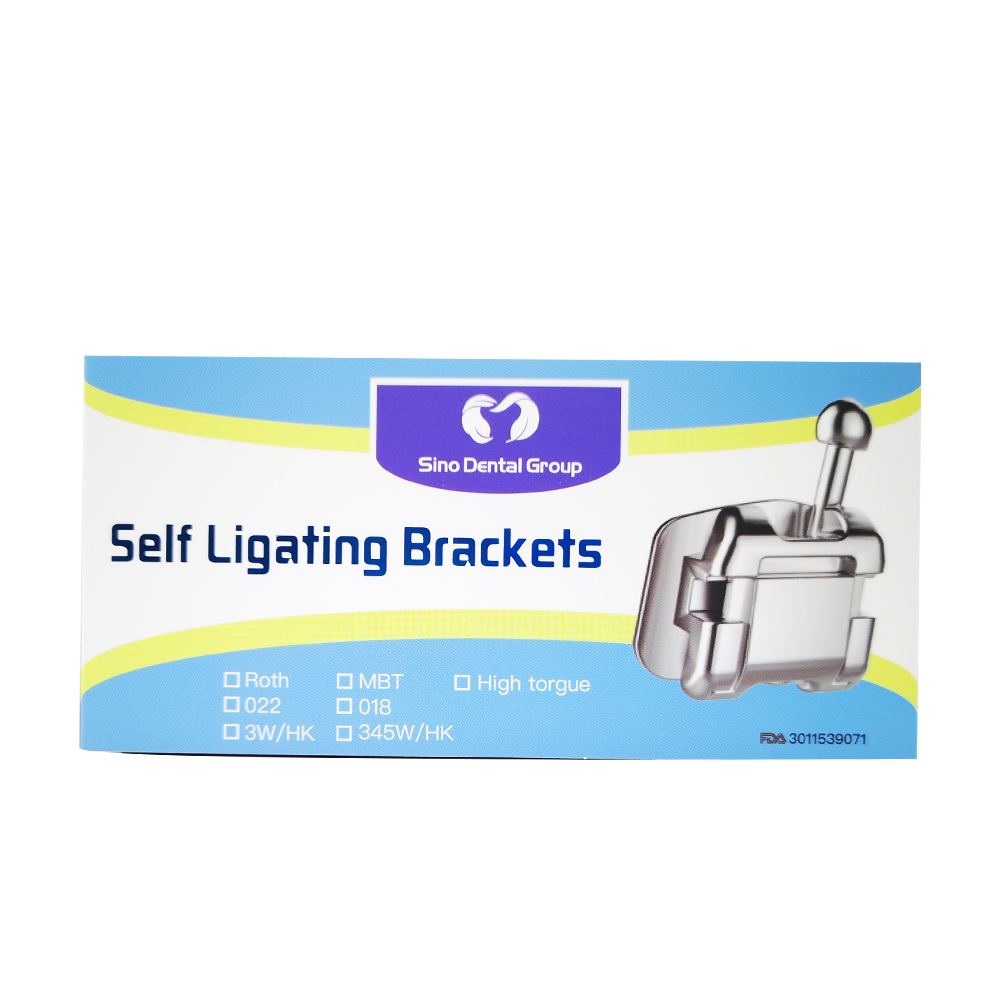 Orthodontic Self Ligating Brackets A Series